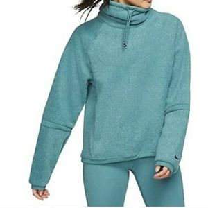 Nike Therma Training Fleece Cowl Neck Pullover NWT